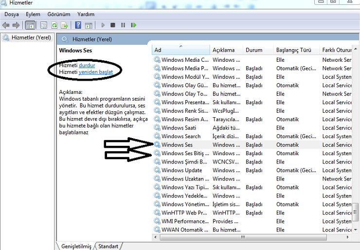 windows 10 ses sorunu-3